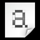 Bitmap, Font Icon