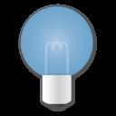 Blue, Bulb Icon