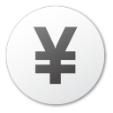 Currency, Yuan Icon