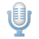 Blue, Microphone Icon