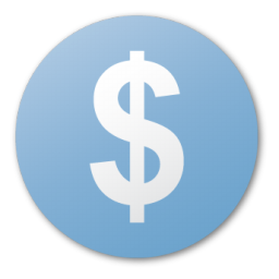 Blue, Cash, Currency, Dollar, Money, Usd Icon
