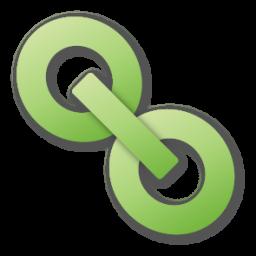 Green, Hyperlink Icon