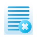 Delete, Notes Icon