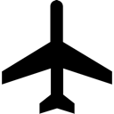 Aircraft, Airport, Plane, Transportation Icon