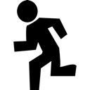 Exit, Running Icon