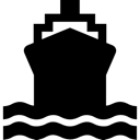 Boat, Ferry, Ship Icon