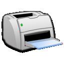 Laser, Printer Icon