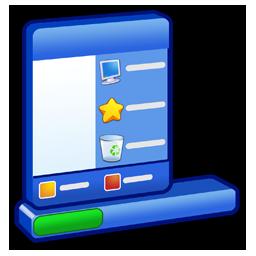 &Amp, Menu, Start, Taskbar Icon
