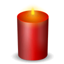 Candle, Christmas Icon