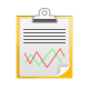 Analysis, Data, Report, Statistics Icon