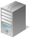 Dedicated, Hosting, Server Icon