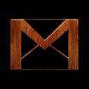 Gmail, Logo, Wood Icon