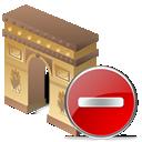 Arcodeltriunfo, Delete Icon