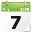 Calendar, Date, Full, Month, Year Icon