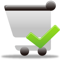 Accept, Cart, Shopping Icon