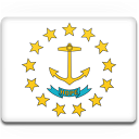Flag, Island, Rhode Icon