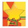 Christmas, Icon, Star Icon