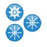Christmas, Flakes, Icon, Snow Icon