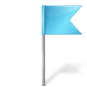Azure, Flag, Map, Marker, Right Icon