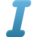 Itailc, Text Icon