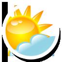 Round, Weather Icon
