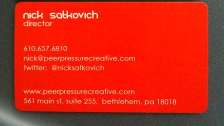 round corner,spot uv business card