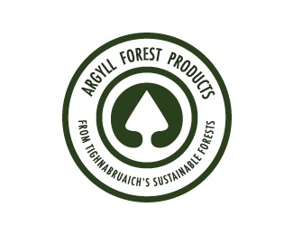 circle,round,forest logo