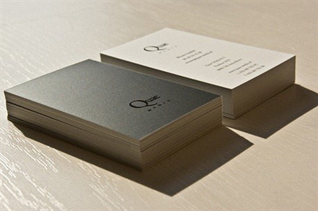 silk laminated,spot uv business card