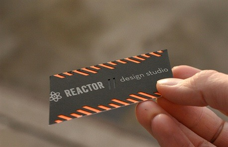 Reactor Design Studio business card