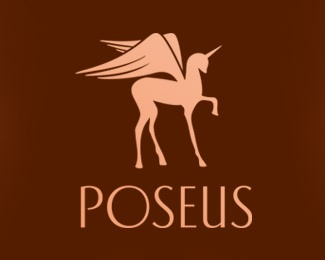 animal,horse,feather,wings logo
