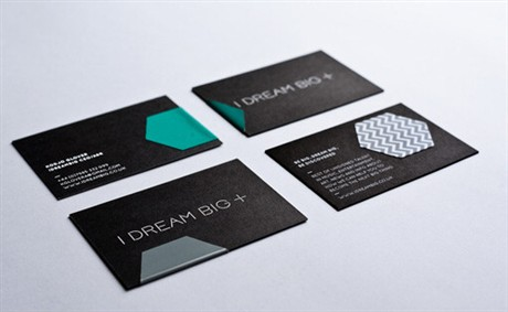 Sticker business card