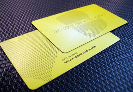 Big Love Creative business card
