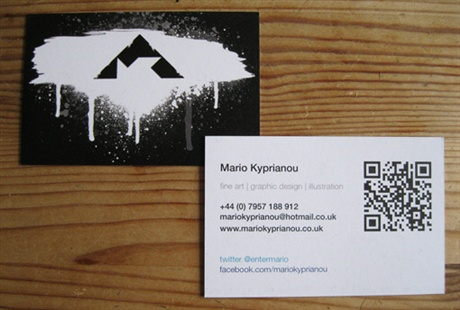 Recyclable Business Card business card