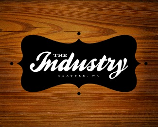 industry,fashion,clothing,boutique,seattle logo