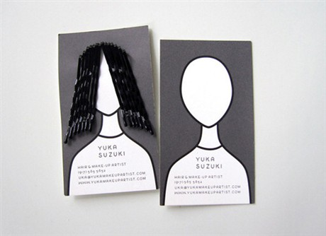 Creative  For a Hairdresser business card
