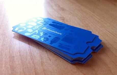 Pivot Share business card