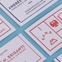 Unique Letterpress Identity