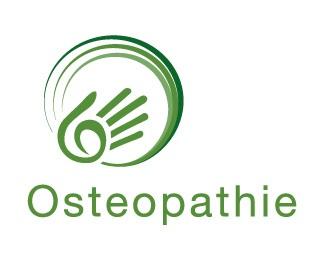 circle,hand,osteopathie logo
