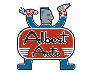 Albert Auto logo