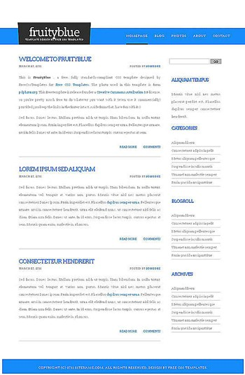 blog,business,computers website template