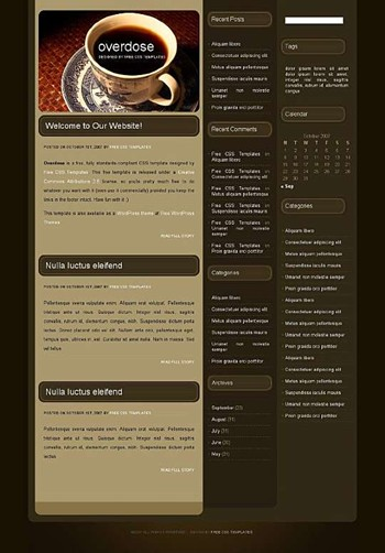 coffee,cup,drink website template
