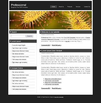 flower,nature website template