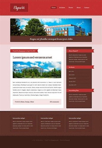 blog,personal website template