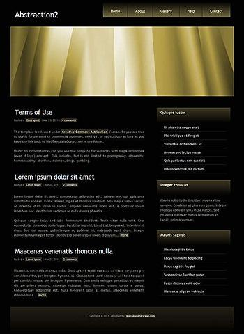 blog,corporate,personal website template
