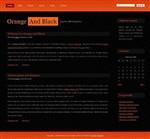 Orangeandblack